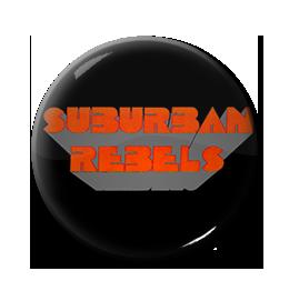 "Suburban Rebels - Logo 1"" Pin"