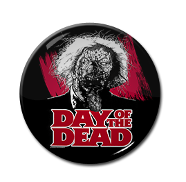 "Day of the Dead - Old Zombie 1"" Pin"