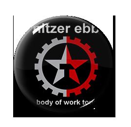 "Nitzer Ebb - Body of Work Tour 1"" Pin"