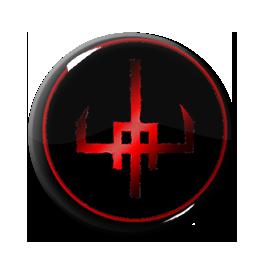"Amduscia - Logo 1"" Pin"
