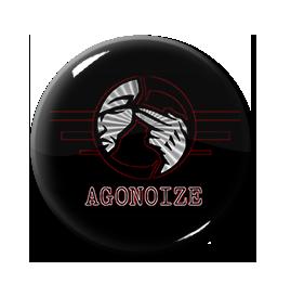 "Agonoize - Logo 1"" Pin"
