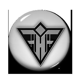 "Feindflug - Logo 1"" Pin"