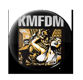 "KMFDM - Angst 1"" Pin"