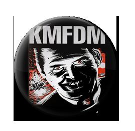"""KMFDM - UAIOE 1"""" Pin"""