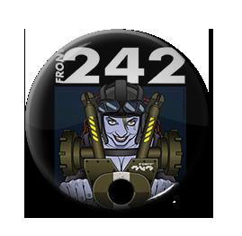 "Front 242 - Master Hit 1"" Pin"