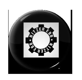 "Nitzer Ebb - Gear Logo 1"" Pin"