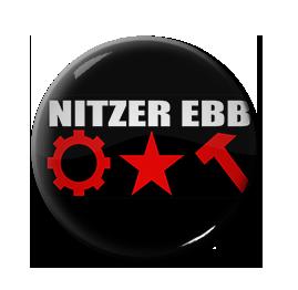 """Nitzer Ebb - Logo 1"""" Pin"""