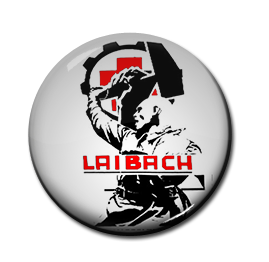 "Laibach - Hammer 1"" Pin"