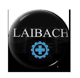 """Laibach - Logo 1"""" Pin"""