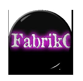 """Fabrikc - Logo 1"""" Pin"""