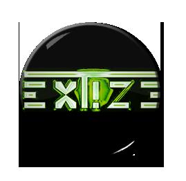 """Extize - Green Logo 1"""" Pin"""