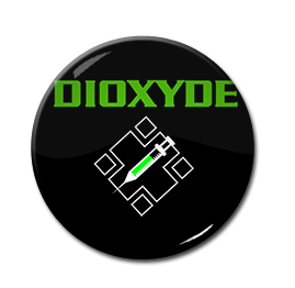 """Dioxyde - Logo 1"""" Pin"""