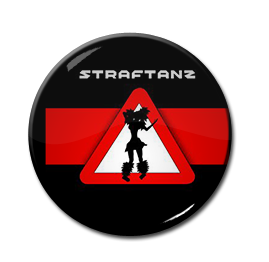 """Straftanz - Straftanz 1"""" Pin"""