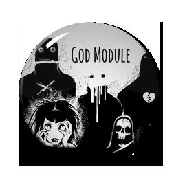 """GOD Module - Empath 2.0 1"""" Pin"""