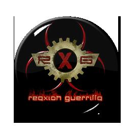 "Reaxxion Guerrilla - Logo 1"" Pin"