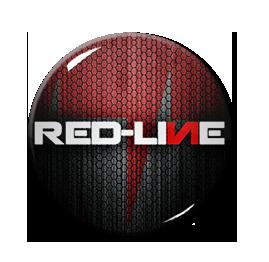 """Red-Line - Logo 1"""" Pin"""