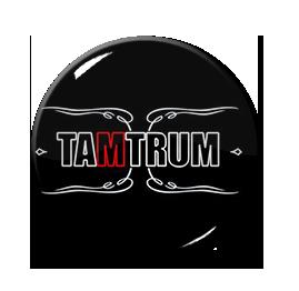 """Tamtrum - Logo 1"""" Pin"""