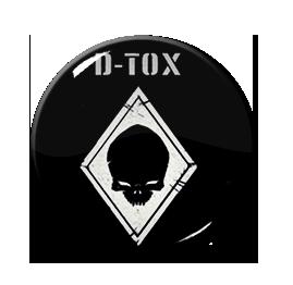 "D-Tox - Logo 1"" Pin"