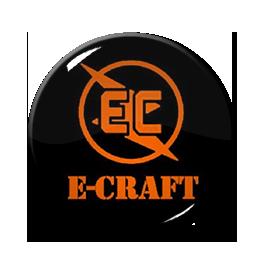 "E-Craft - Logo 1"" Pin"