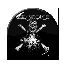 """God Module - Skull & Crossbones 1"""" Pin"""