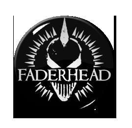 "Faderhead - Logo 1"" Pin"
