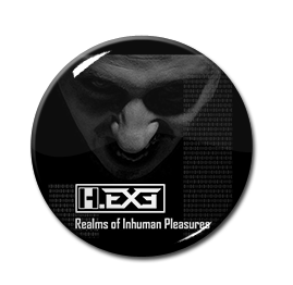 "H.EXE - Realms of Inhuman Pleasures 1"" Pin"