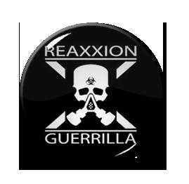 "Reaxxion Guerrilla - Skull 1"" Pin"