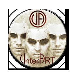 "UnterART - Faces 1"" Pin"