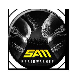 """Sam - Brainwasher 1"""" Pin"""