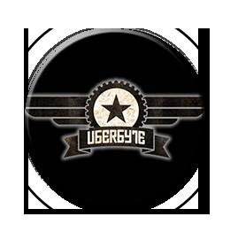 "UbERbYTE - Logo 1"" Pin"