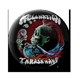 """Hellnation - Thrash Wave 1"""" Pin"""