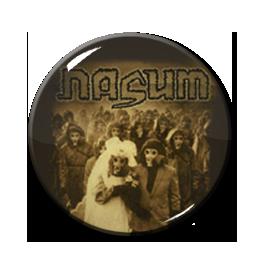 """Nasum - Inhale-Exhale 1"""" Pin"""