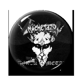 "Machetazo - Horror Metal 1"" Pin"