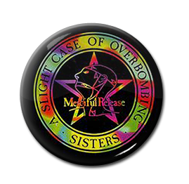 "Sisters of Mercy - A Slight Case of Overbombing 1"" Pin"