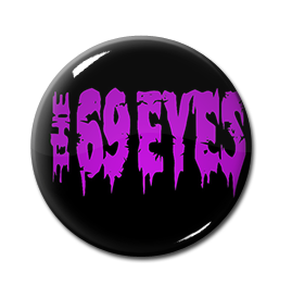 "The 69 Eyes - Logo 1"" Pin"