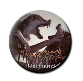"Moonspell - Wolfheart 1"" Pin"