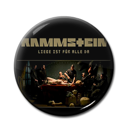 """Rammstein - Liebe Ist Für Alle Da 1"""" Pin"""