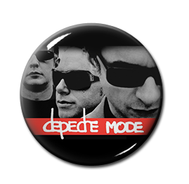 "Depeche Mode - Faces 1"" Pin"