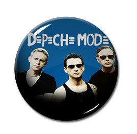 "Depeche Mode - Band 1"" Pin"