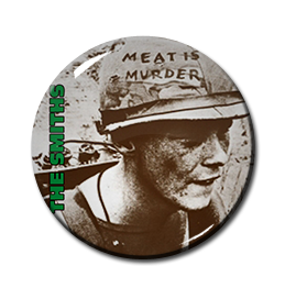 "The Smiths - Meat is Murder 1"" Pin"
