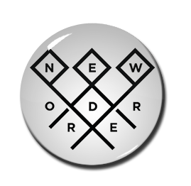 "New Order - Logo 1"" Pin"