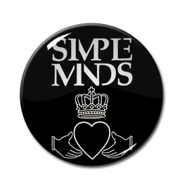 "Simple Minds - Logo 1"" Pin"