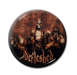 "Defleshed - Fast Forward 1"" Pin"