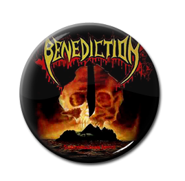 "Benediction - Subconscious Terror 1"" Pin"