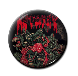 "Autopsy - Mental Funeral 1"" Pin"