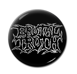 "Brutal Truth - Logo 1"" Pin"