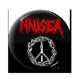 "Nausea - Crucified Jesus 1"" Pin"