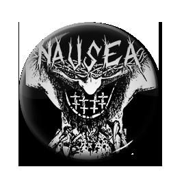 "Nausea - Extinct Demo 1"" Pin"