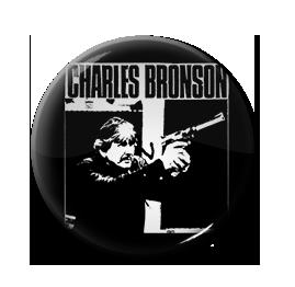 """Charles Bronson 1"""" Pin"""