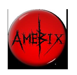"""Amebix - Logo 1"""" Pin"""